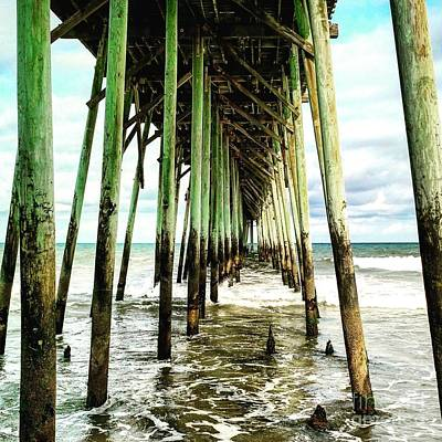 Painting - Kure Pier by Amy Sorrell