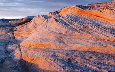 Photograph - Kurnell Rock Shelves by Nicholas Blackwell