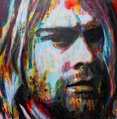 Kurt Cobain Original by Angie Wright