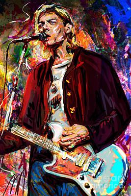 Kurt Cobain Art Original