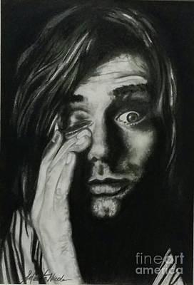 Drawing - Kurt Cobain by Jeleata Nicole
