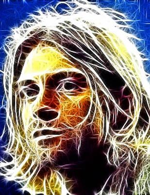 Kurt Cobain Art Print by Paul Van Scott