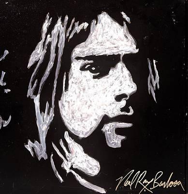 Painting - Kurt Kobain by Neal Barbosa