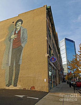 Kurt Vonnegut In Indy Art Print