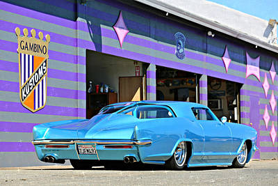 Photograph - Kustom On The Riviera  by Steve Natale