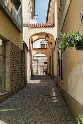 Photograph - Kutna Hora Alley by Sharon Popek