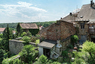 Photograph - Kutna Hora Backyards by Sharon Popek