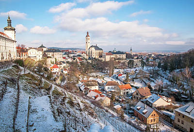 Photograph - Kutna Hora In Winter. Czech Republic by Jenny Rainbow