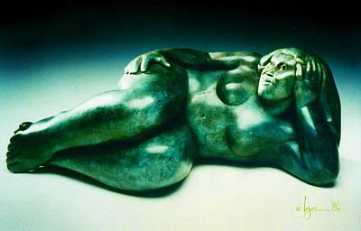 Sculpture - Kuulei by Angela Treat Lyon