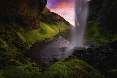 Photo Royalty Free Images - Kvernufoss Royalty-Free Image by Tor-Ivar Naess