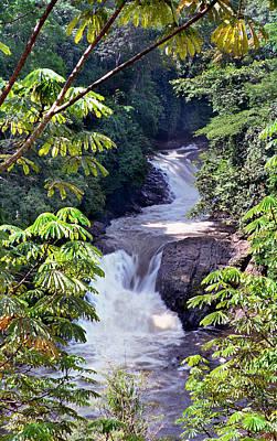 Photograph - Kwa Qua Water Falls V by Muyiwa OSIFUYE