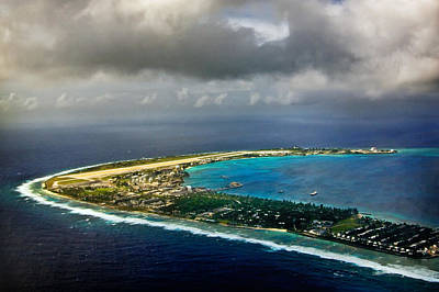 Lee Craker Royalty-Free and Rights-Managed Images - Kwajalein Island by Lee Craker