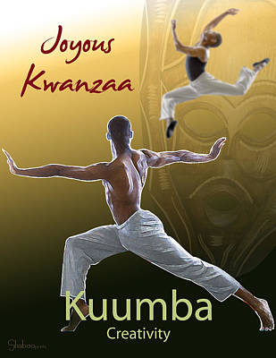 Digital Art - Kwanzaa Kuumba by Shaboo Prints