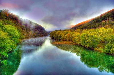 Photograph - Ky River Palisades 1 by Sam Davis Johnson