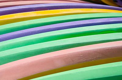 Kyak Rainbow Art Print