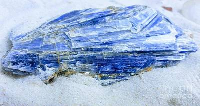 Photograph - Kyanite by Rachel Hannah