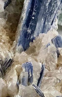 Photograph - Kyanite Art  by Susan Garren