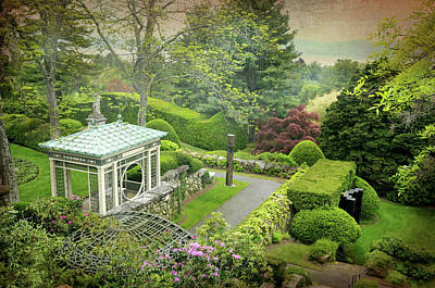 Photograph - Kykuit Garden by Diana Angstadt