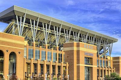 Photograph - Kyle Field Home Of The Aggies by JC Findley