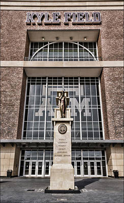 Bryant Photograph - Kyle Field by Stephen Stookey