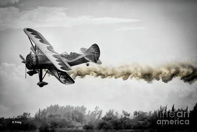 Photograph - Kyle Franklin Low Pass by Rene Triay Photography