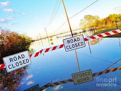 Flooding Photograph - Kyle Texas Flooding October 30 2015 by Chuck Taylor