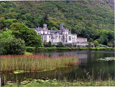 Kylemore Abbey, County Galway, Art Print