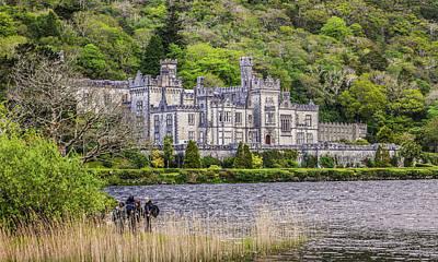 Photograph - Kylemore Abbey - County Galway Ireland by Lexa Harpell