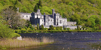 Photograph - Kylemore Abbey - County Galway  by Lexa Harpell