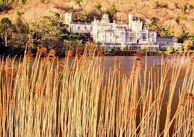Kylemore Abbey, County Galway Print by Sici