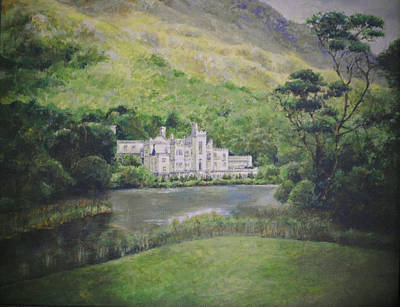 Kylemore Abbey Art Print by Cynthia Satton