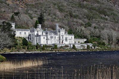 Irish Castle Photograph - Kylemore Abbey by John Quinn