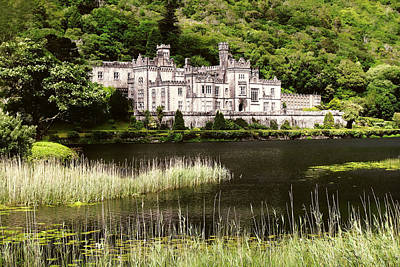 Art Print featuring the photograph Kylemore Abbey Victorian Ireland by Menega Sabidussi