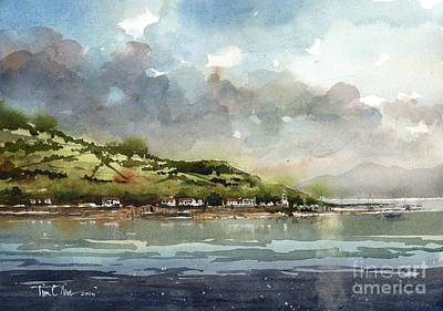 Scotland Painting - Kyles Of Bute by Tim Oliver