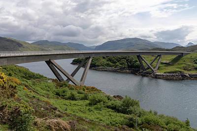 Photograph - Kylesku Bridge 1053 by Teresa Wilson