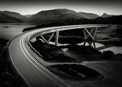 Photograph - Kylesku Bridge by Dave Bowman