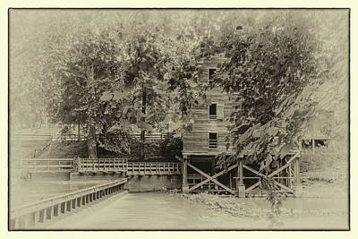 Photograph - Kymulga Grist Mill by Jack Peterson