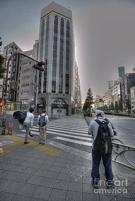Photograph - Kyoto Commuting by David Bearden