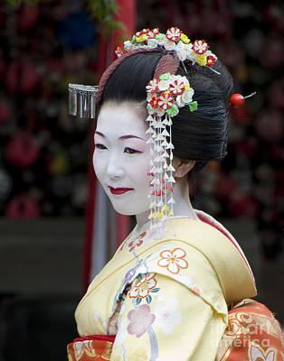 Photograph - Kyoto Geisha by Waterdancer