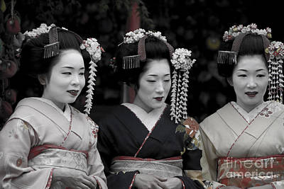 Photograph - Kyoto Geishas by Waterdancer