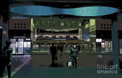 Photograph - Kyoto Station, Japan Poster by Perry Rodriguez