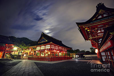 Photograph - Kyoto Temple by Ben Johnson