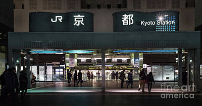 Photograph - Kyoto Train Station, Japan by Perry Rodriguez