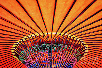 Photograph - Kyoto Umbrella by Dean Harte