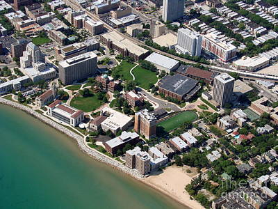 Photograph - L-007 Loyola University Chicago Illinois by Bill Lang
