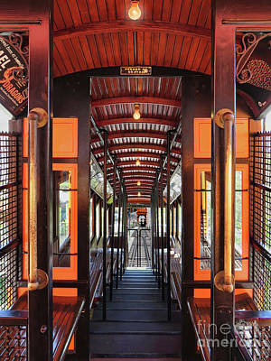 Photograph - L A Angel's Flight  by Jennie Breeze