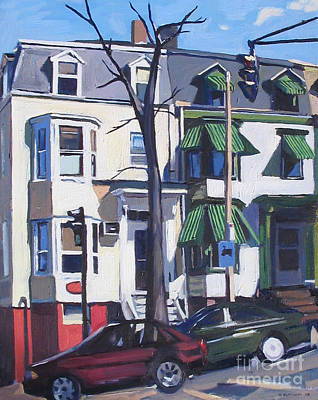 Southie Painting - L And Broadway by Deb Putnam