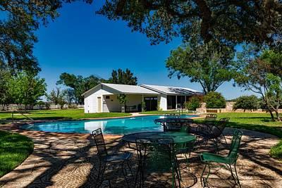 Lyndon Photograph - L B J Ranch House by Mountain Dreams