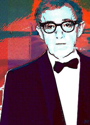 Woody Allen Digital Art - L Homme Irrationnel by Annick Portal