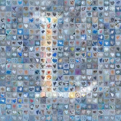 Digital Art - L In Cloud by Boy Sees Hearts